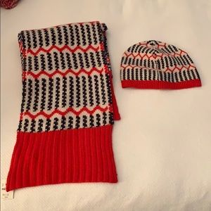 Matching Scarf and Hat Set
